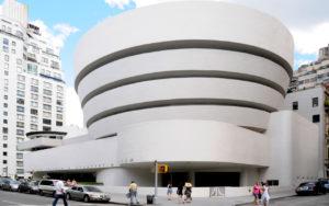Solomon Guggenheim Museum, NYC, Frank Lloyd Wright