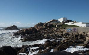 Casa de Cha in Leca de Palmeira, Porto - Alvaro Siza Vieira
